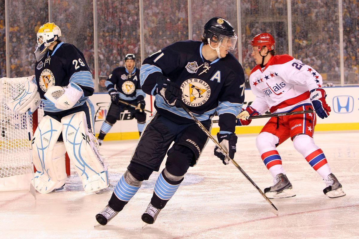 2011 NHL Winter Classic: Washington Capitals v Pittsburgh Penguins