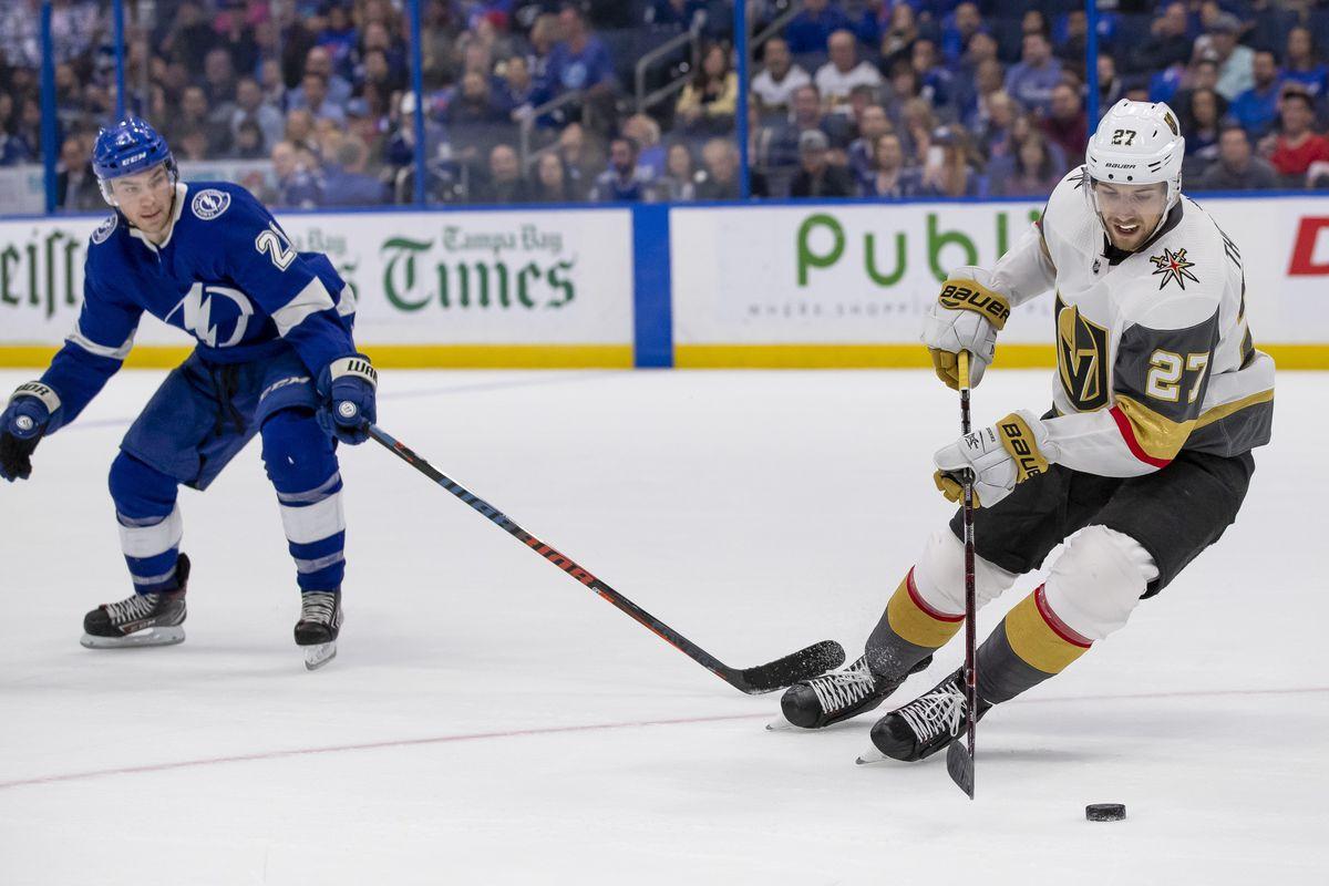 NHL: FEB 05 Golden Knights at Lightning