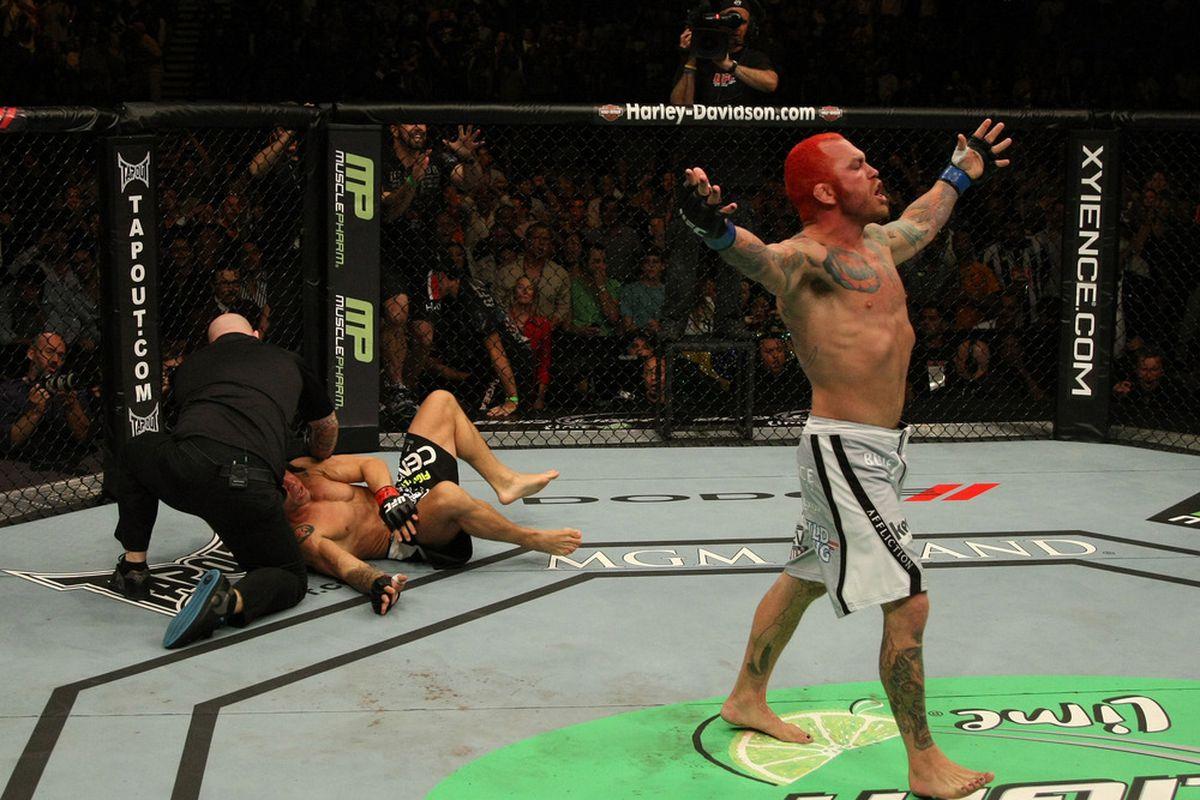 Chris Leben UFC 132