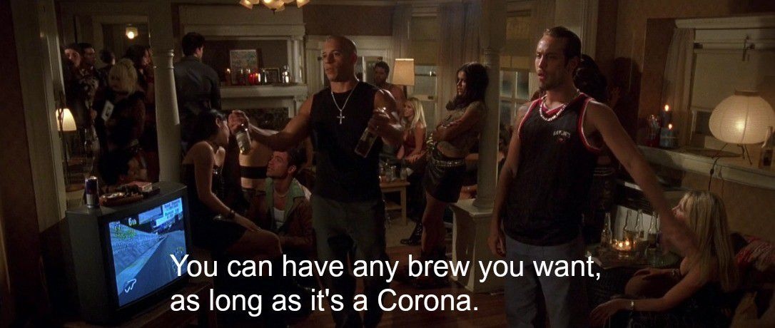 Any Brew You Want As Long As It S A Corona The Ringer
