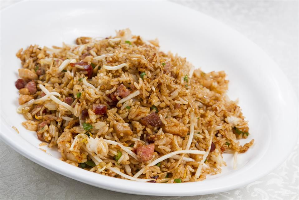Barbecue pork fried rice
