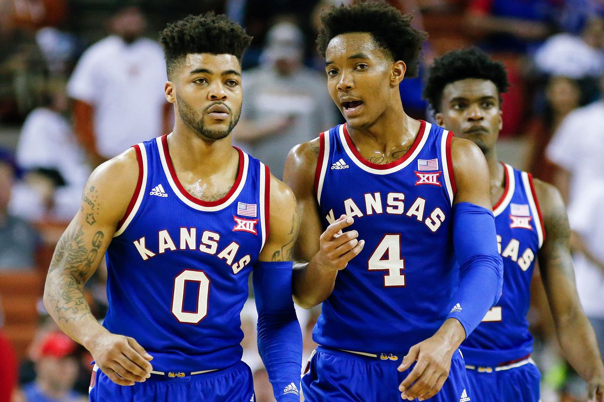 Frank Mason III and Devonte' Graham (GettyImages)
