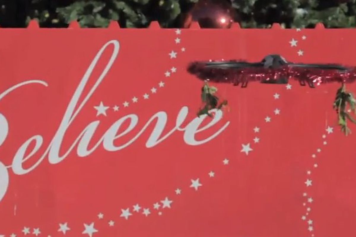 The Mistletoe Drone