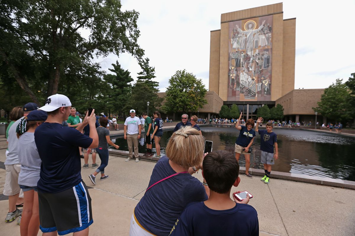 What Visitors Should Know See Do On A Notre Dame Football Game