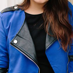 """<strong>Adiel Cloud, Community Manager at Poshmark</strong> <br> Blog: <a href=""""http://www.itsbecauseithinktoomuch.com"""">It's Because I Think Too Much</a> <br> <strong>What spring/summer trend of 2014 is easiest to incorporate into a fall look?</strong"""