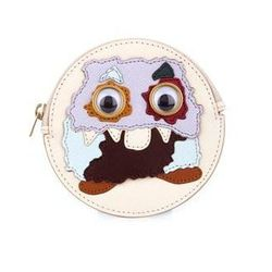 """Sophie Hulme monster coin pouch, <a href=""""http://www.matchesfashion.com/product/214997?country=USA&currency=USD&indcurrency=USD&mkwid=Ma1RxEct&vzwty=cgid:14687556777