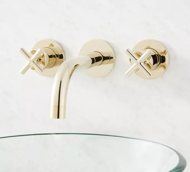 Modern bathroom faucet by Signature Hardware