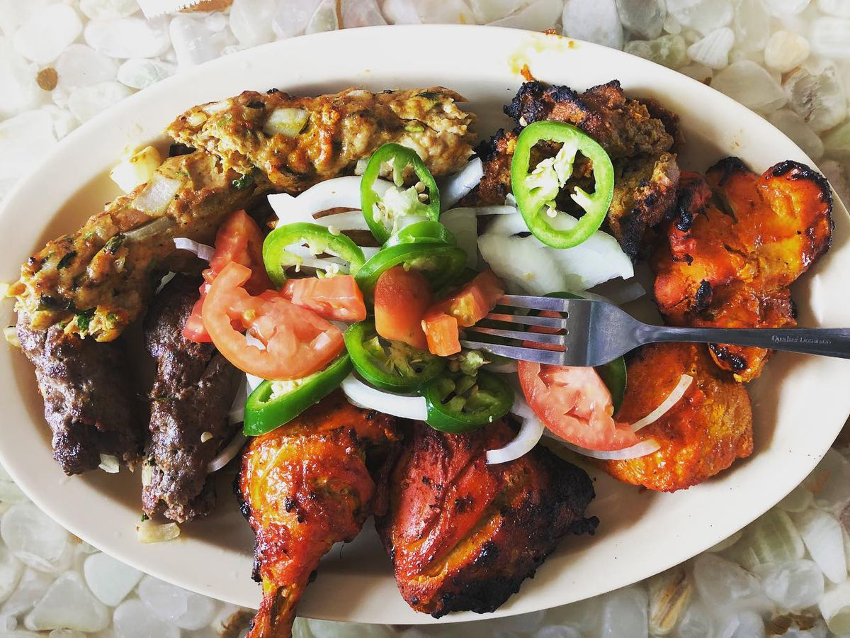 Grilled chicken from Biriyani Kabob House in Los Angeles, California