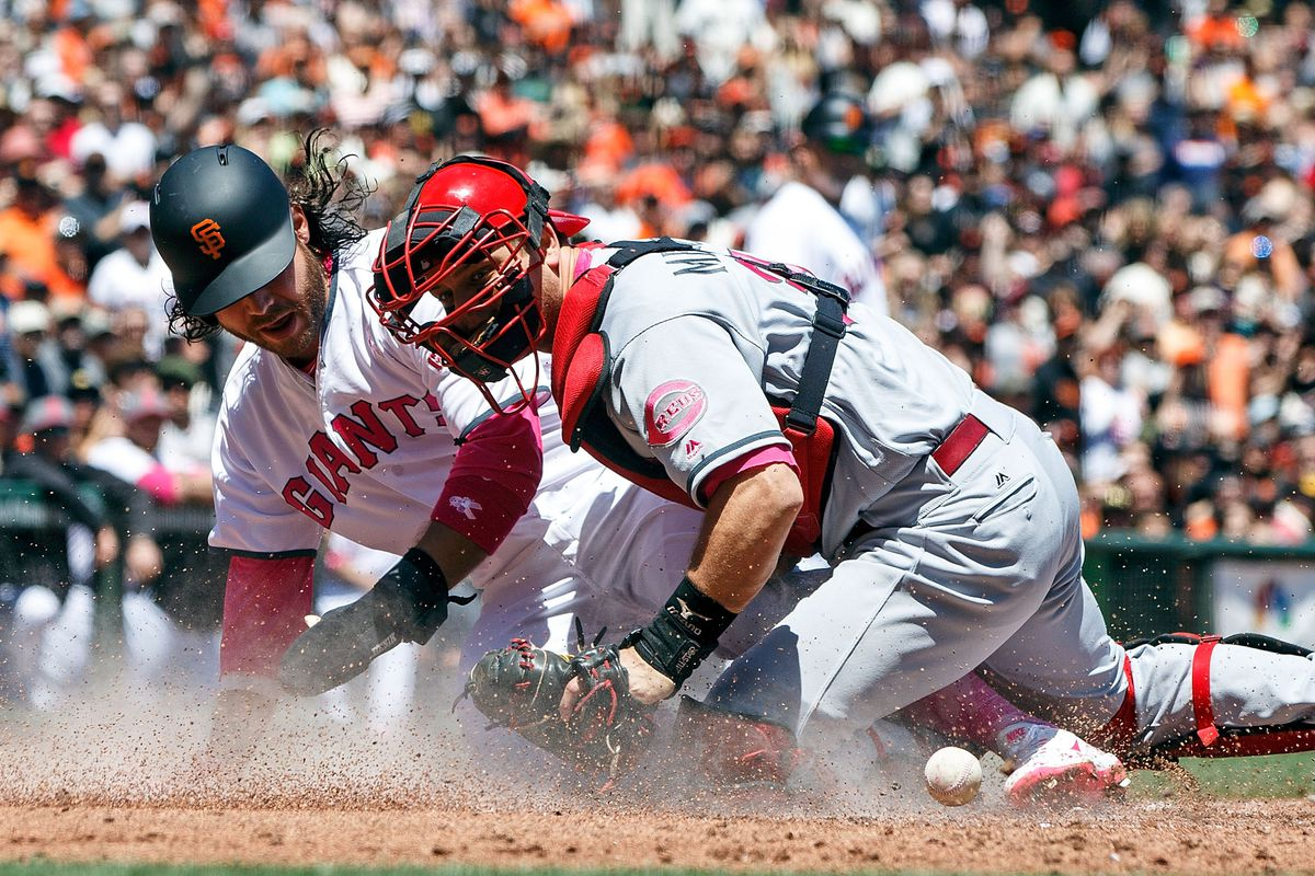869e63545 Reds lose Adleman after just an inning, get pounded by Giants 8-3 in ...
