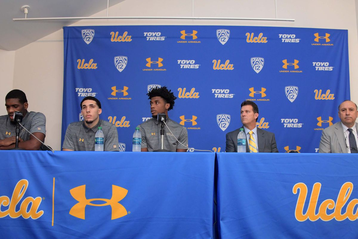 NCAA Basketball: UCLA Press Conference