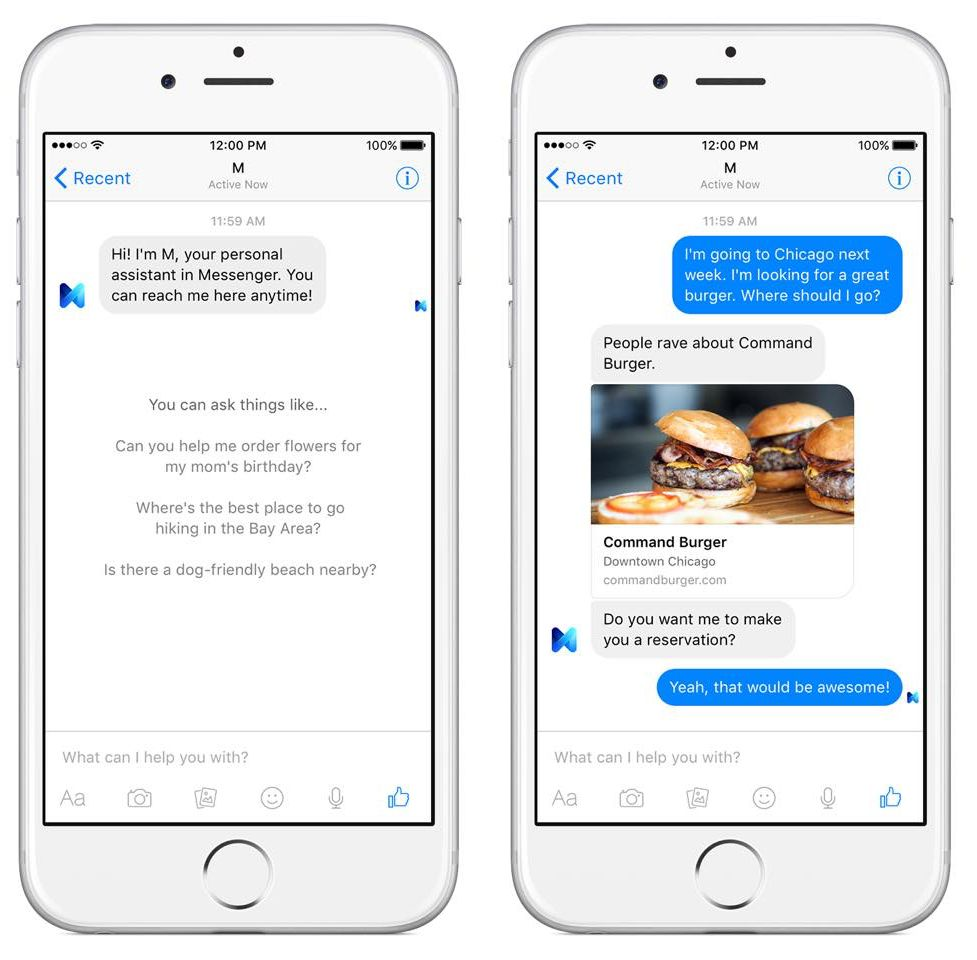 489bdc86144c Facebook is shutting down M, its personal assistant service that ...