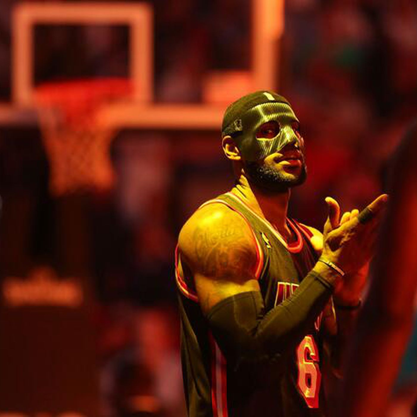 The legend of the black mask in the NBA - SBNation.com