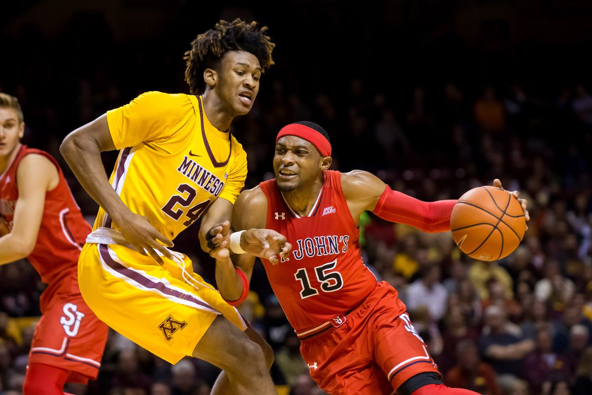 NCAA Basketball: St. John at Minnesota