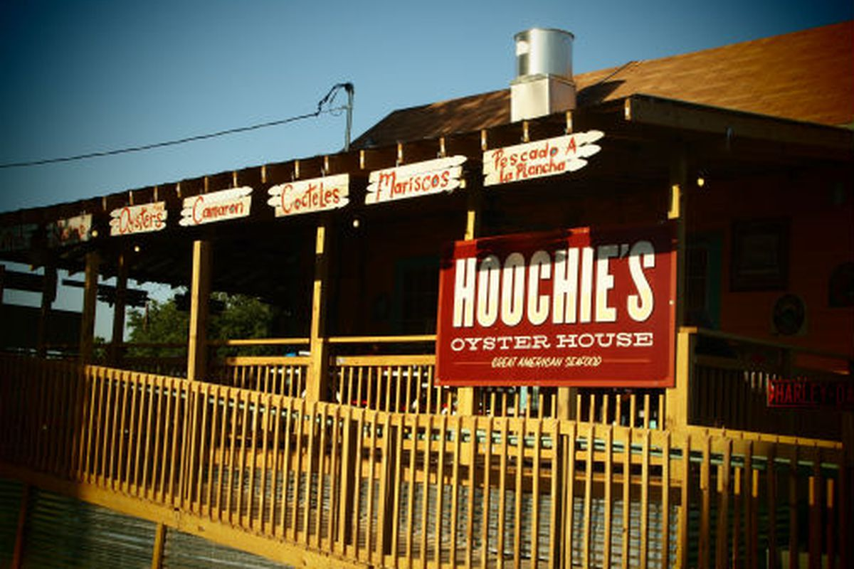 Hoochie's Oyster House in Denton.