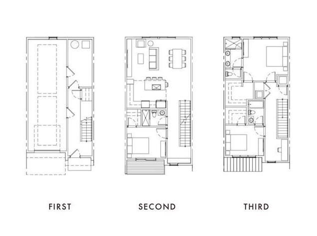 A floorplan shown in black and white.
