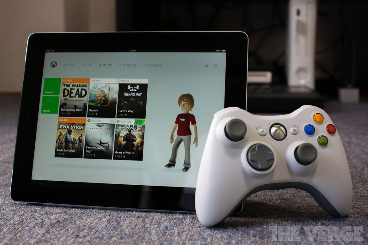 My Xbox Live app now lets you control your console from ...Xbox 360 Controller App
