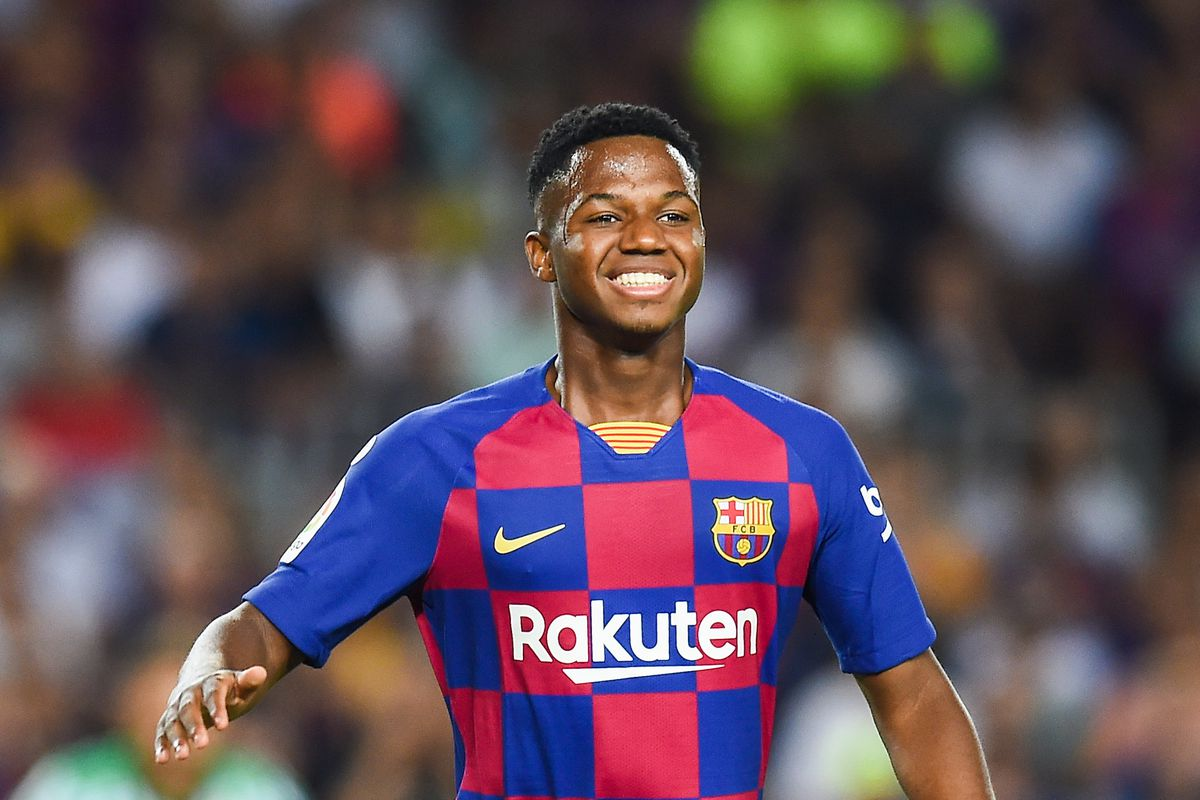 """Ansu Fati: 16 year old Barcelona debutant had a """"millionaire"""" offer from Real Madrid - Barca"""