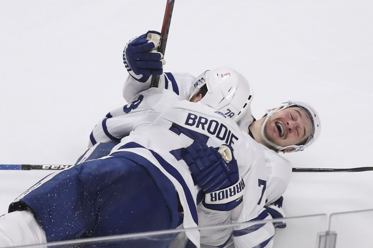 Leafs play Montreal in game 6 of first round