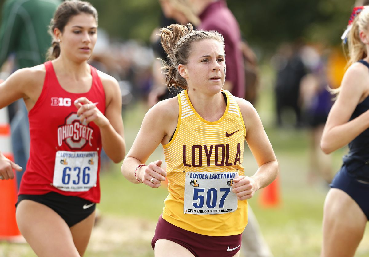Lindsey Brewis nearly quit running halfway through her freshman year.   Steve Woltmann/Loyola Athletics