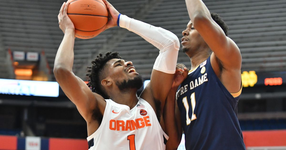 Syracuse Orange men's basketball ACC Tournament seeding possibilities - Troy Nunes Is An Absolute Magician