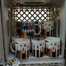These colorful mugs are $10