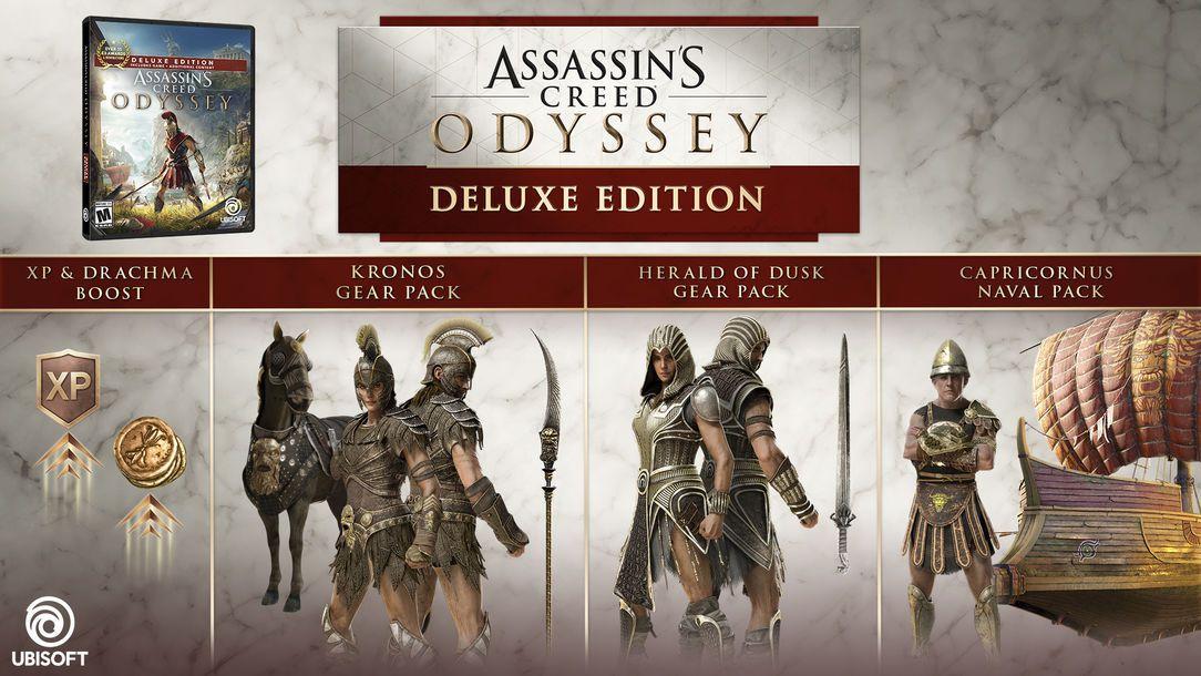 assassins creed origins deluxe vs gold