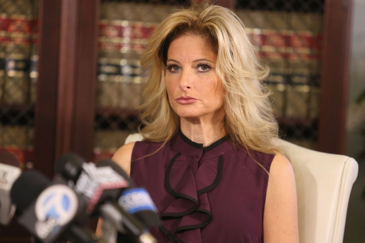 Gloria Allred Holds News Conference With New Accuser v. Donald Trump