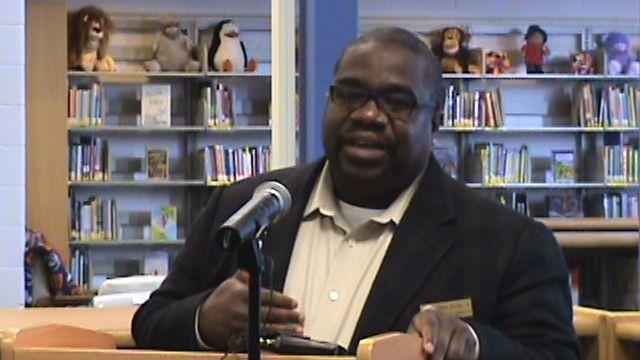 File photo of Denver school board president Nate Easley
