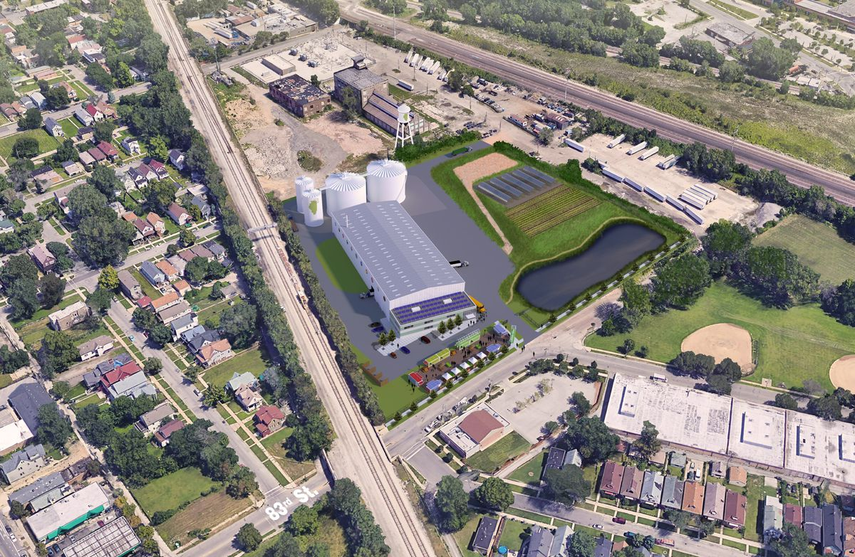 Green Era's 9-acre site will include a 13,000 square-foot greenhouse that will grow 14,000 pounds to 26,000 pounds of organic produce every year.