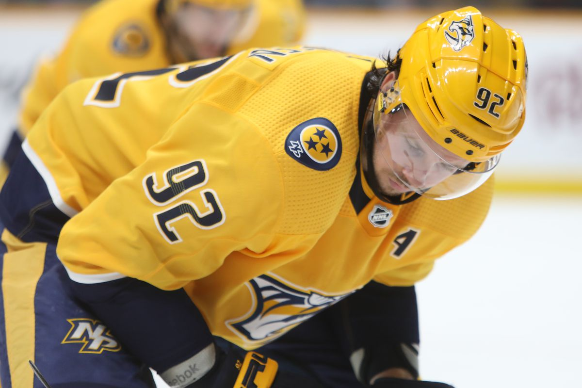 NHL: FEB 13 Islanders at Predators