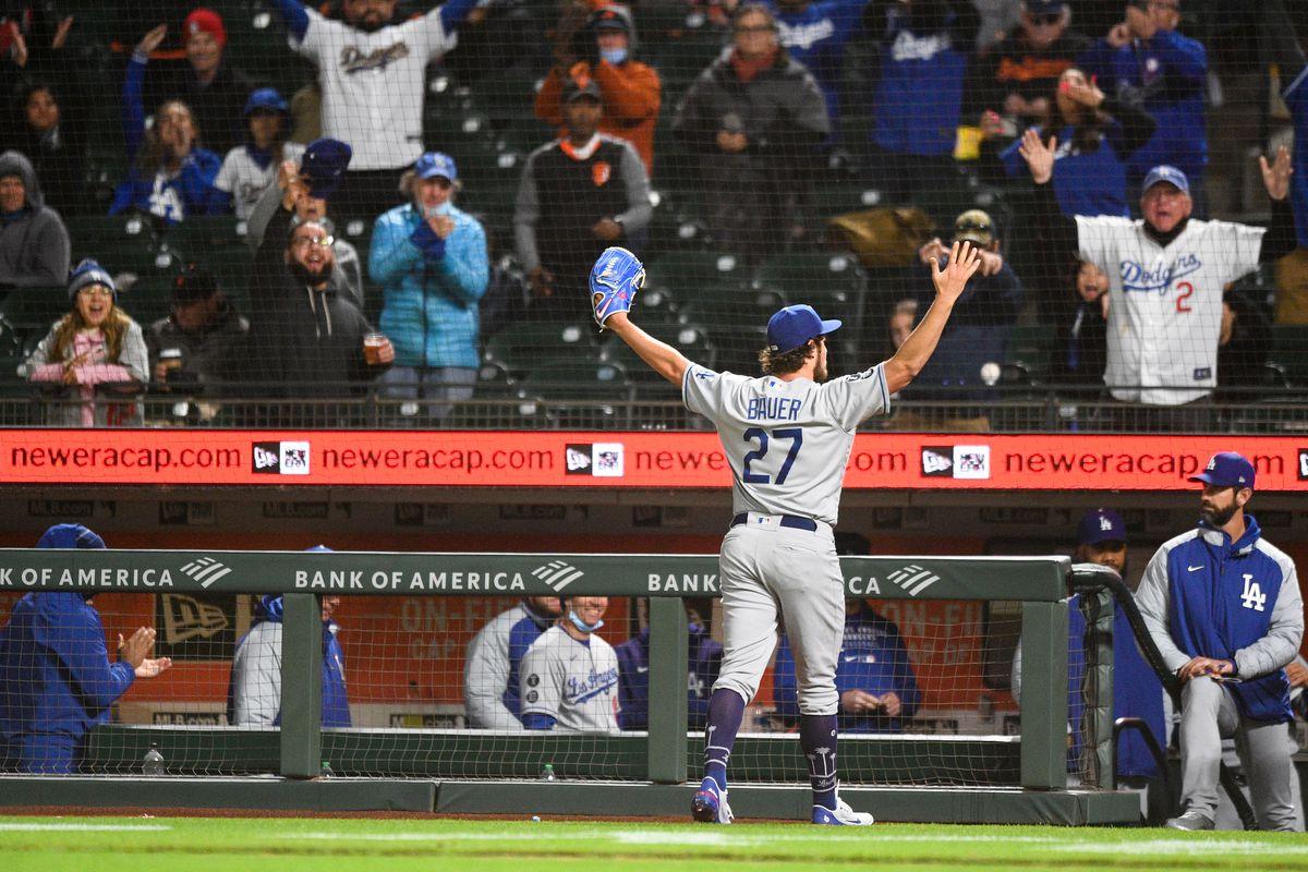 MLB: MAY 21 Dodgers at Giants