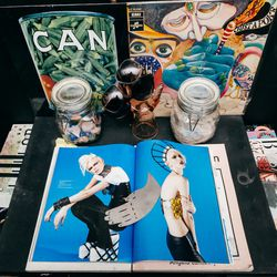 Here's a smattering of magazines, music, and some recent press from Zink.