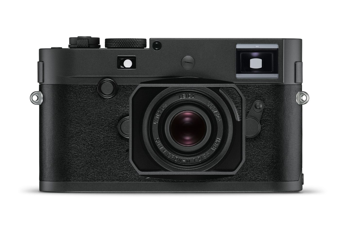 Leica's 'stealth edition' Monochrom camera is all black and glows in