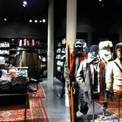 The men's section is so posh.