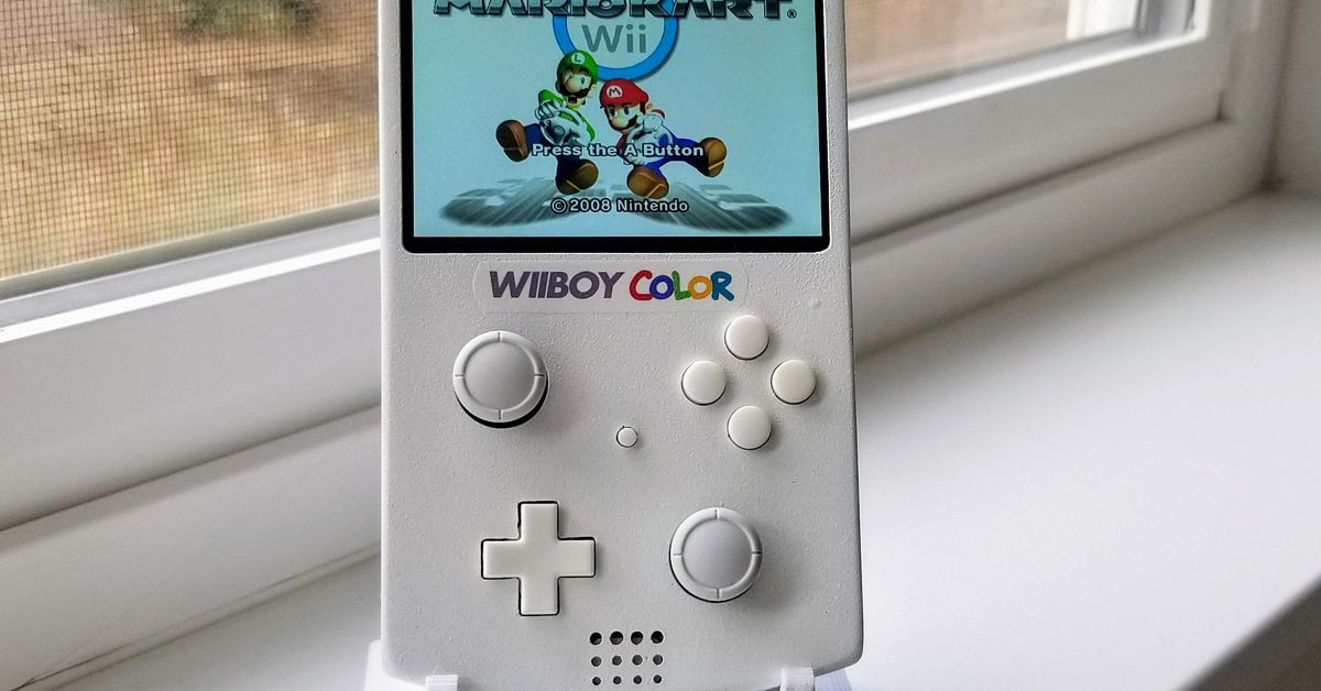 This Game Boy Color is actually a portable Nintendo Wii and it's so damn clean – Circuit Breaker