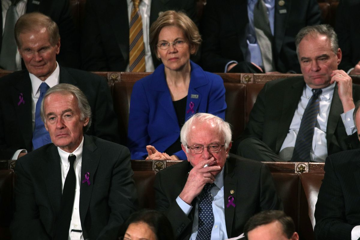 Image result for pictures of democratic leadership at trump's the state of the union