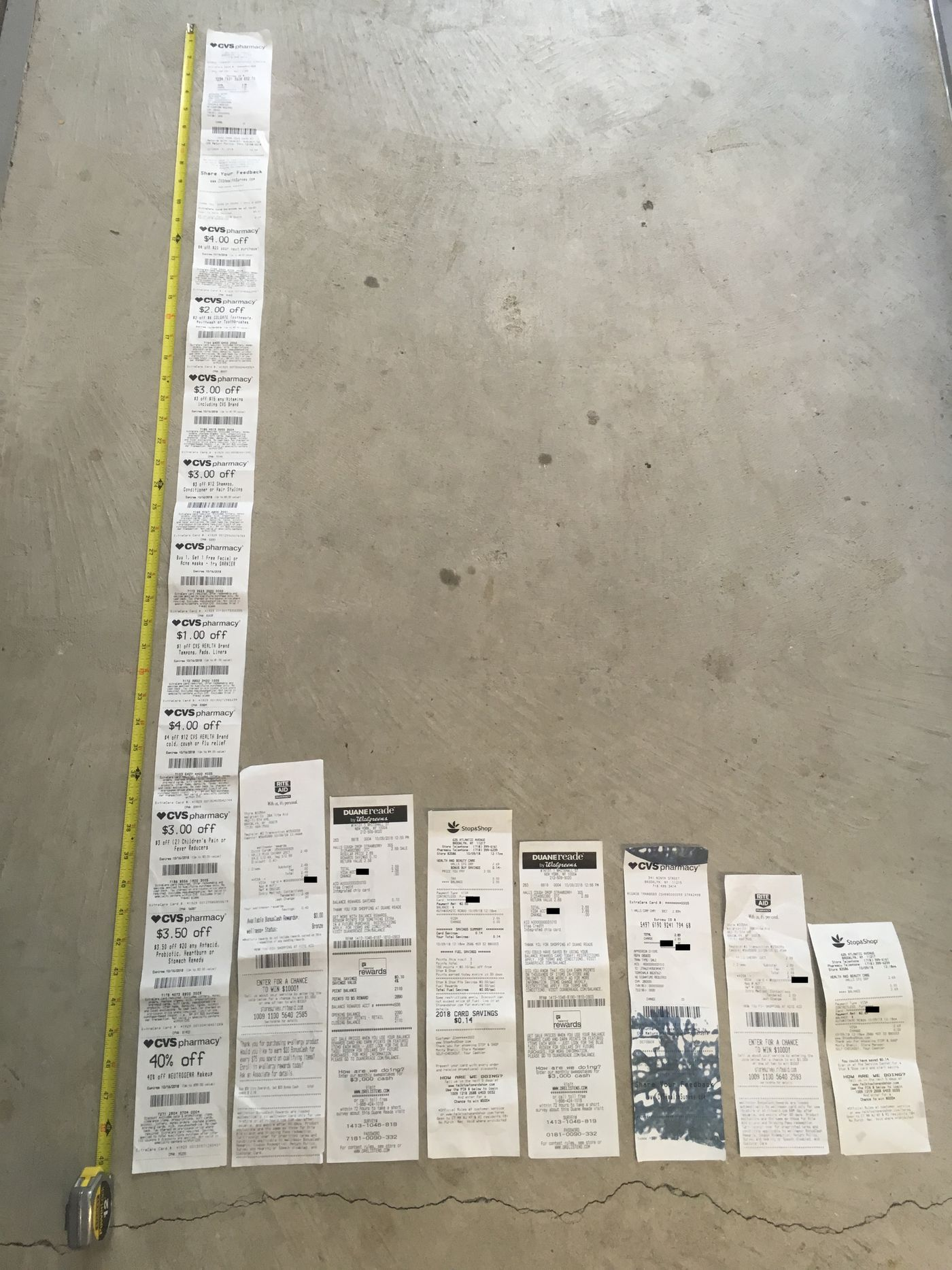 Why are CVS receipts so long? An investigation  - Vox