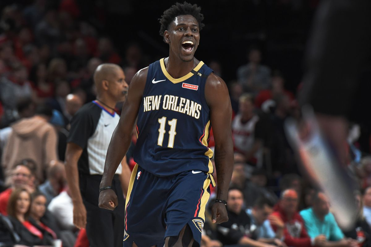 e0f9b284560 2018 NBA Playoffs  Jrue Holiday and New Orleans are in midst of enjoying  last laugh at expense of Damian Lillard and Portland