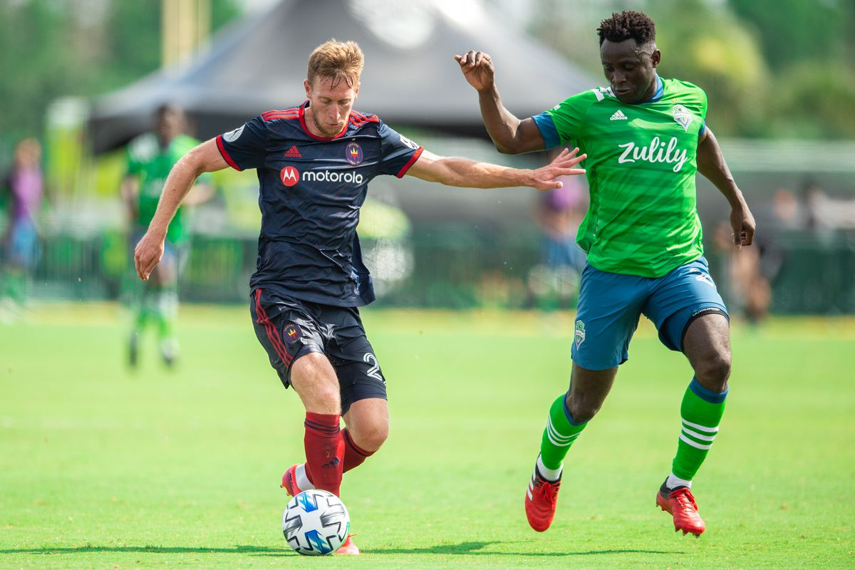 Seattle Sounders FC v Chicago Fire