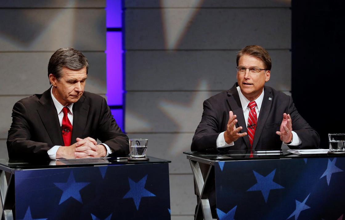 North Carolina gubernatorial candidates