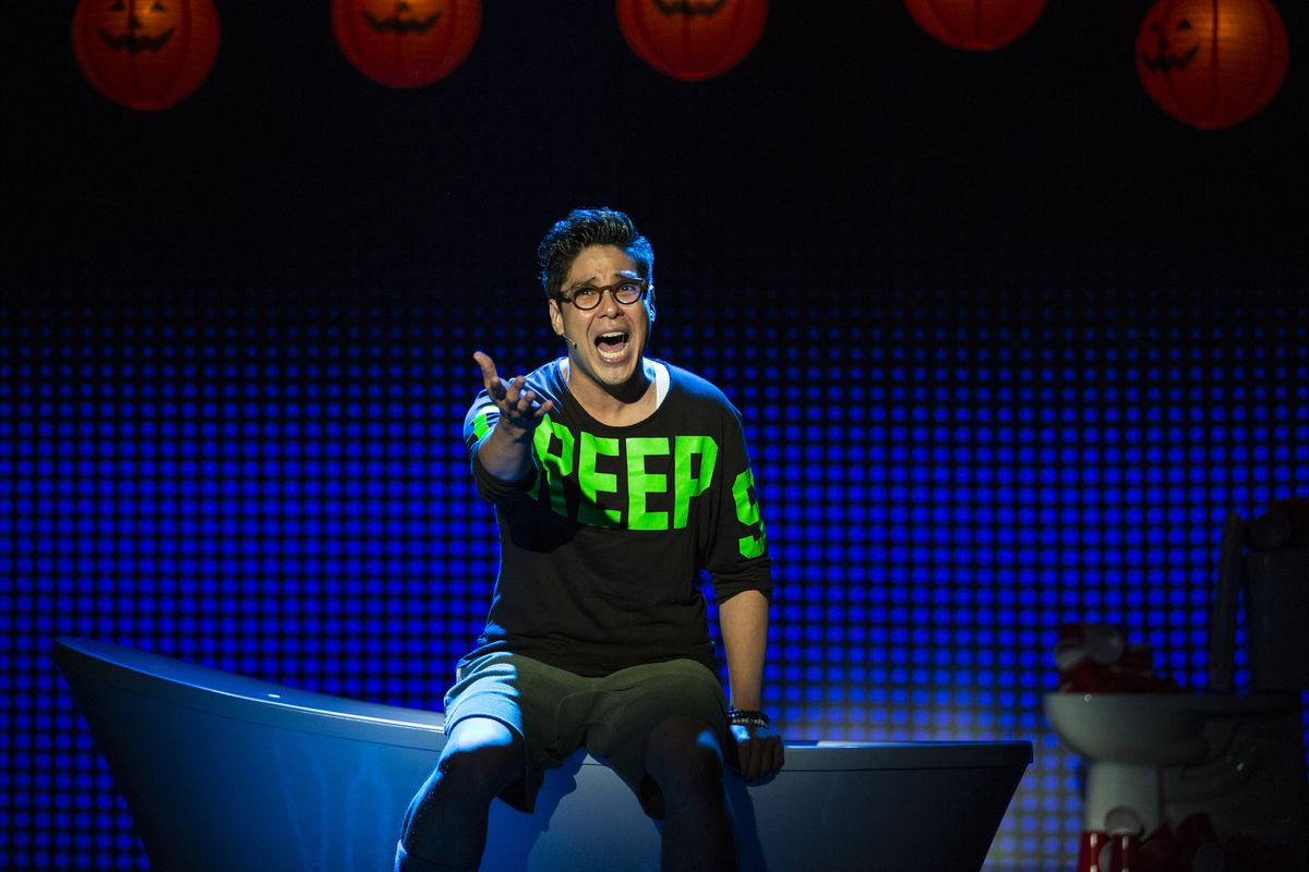 Be More Chill Joe Iconiss OffBroadway Musical Is A Teen - Michael in the bathroom lyrics