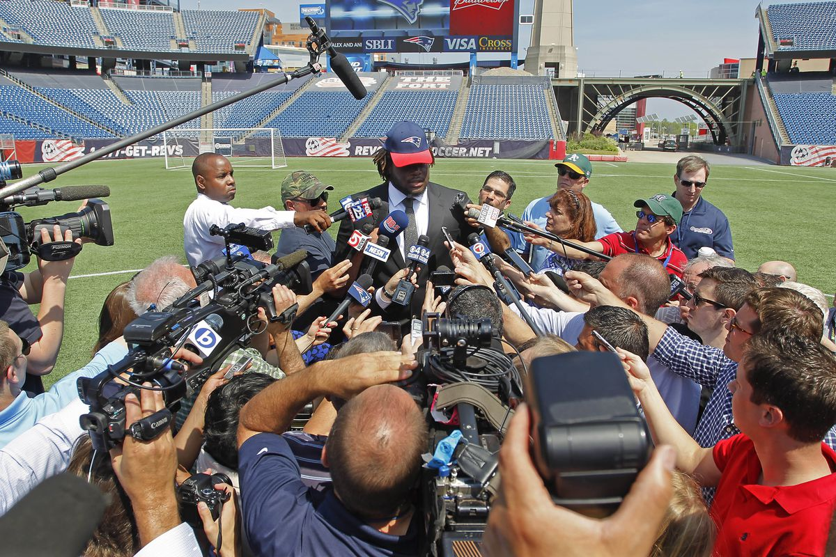 Malcom Brown's media introduction from last year