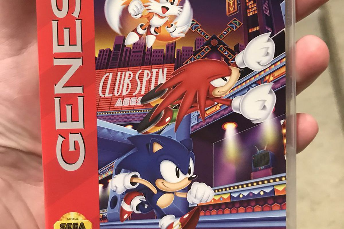 Sonic Mania Plus Has Reversible Sega Genesis Mega Drive Covers Polygon