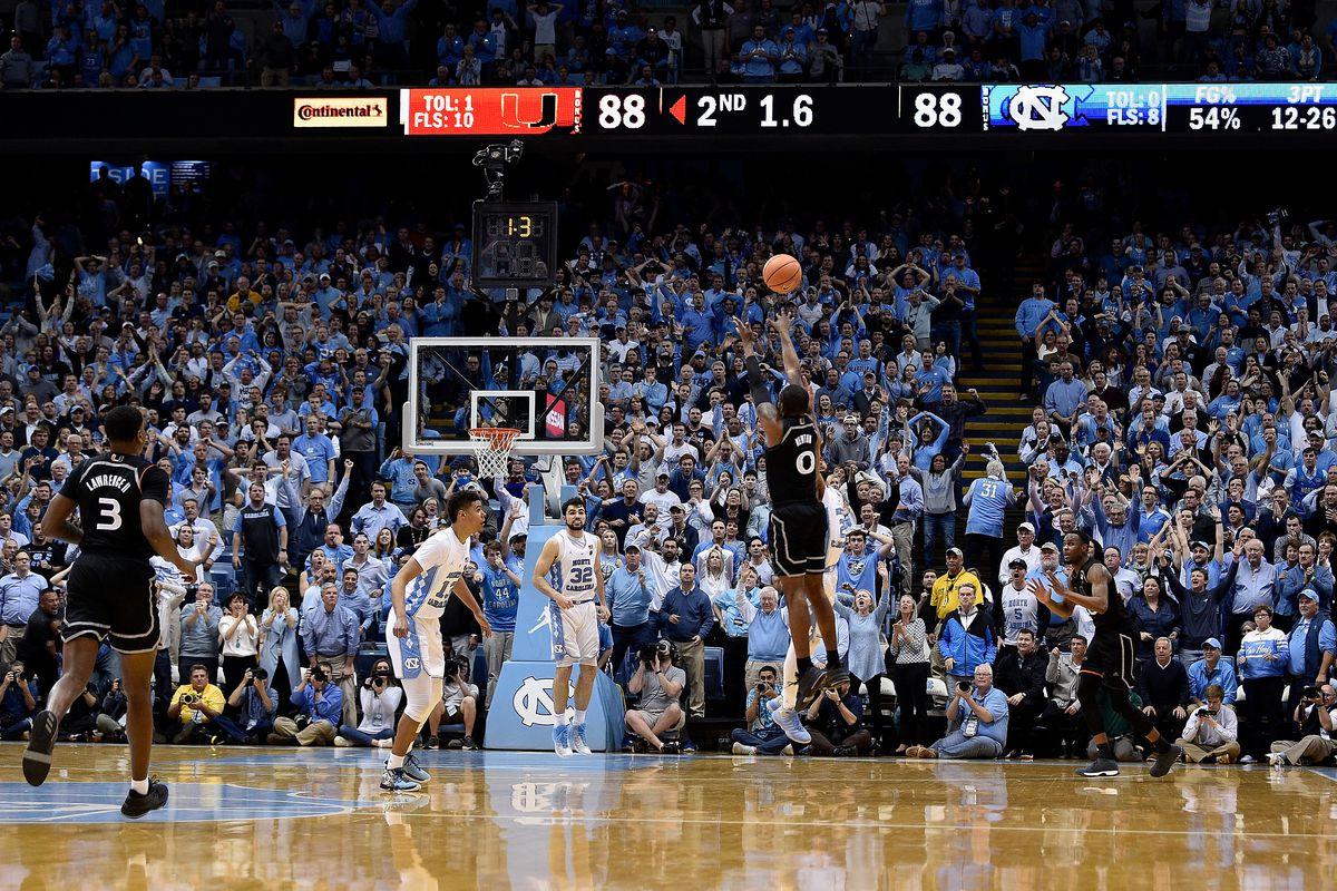 daa8f4481d91f7 UNC vs. Miami Basketball  A History - Tar Heel Blog
