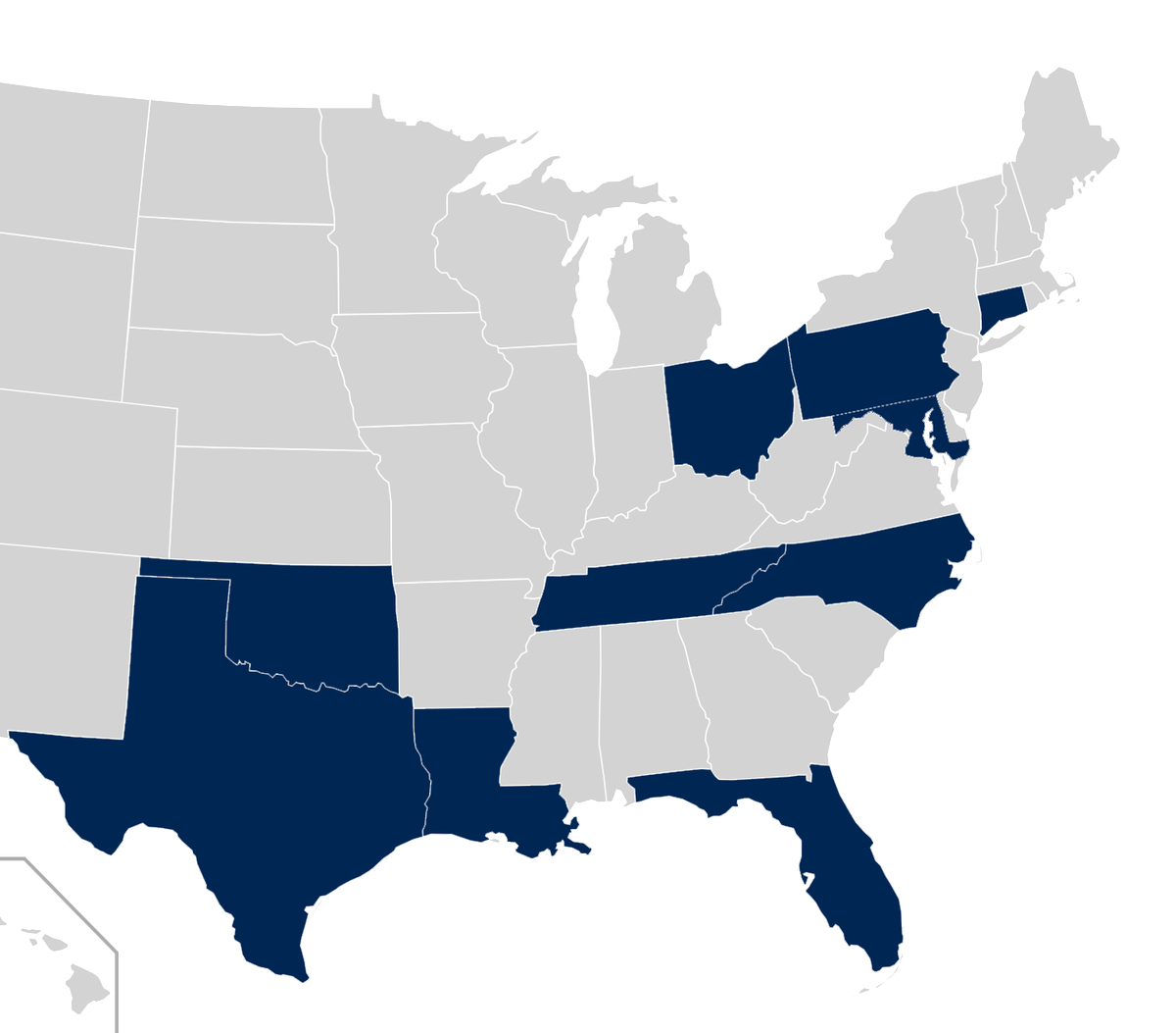 aac conf map