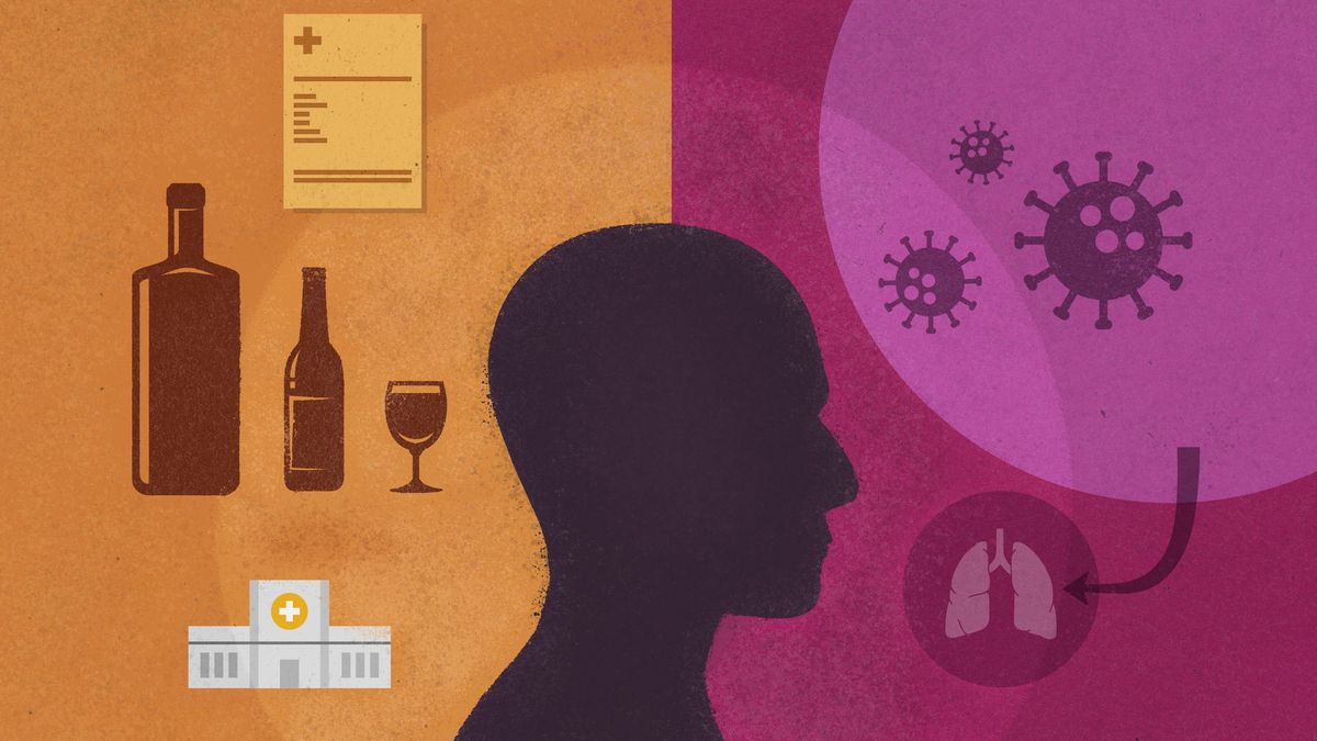 """Alcohol addiction: """"I walked out of rehab and into a pandemic"""" - Vox"""