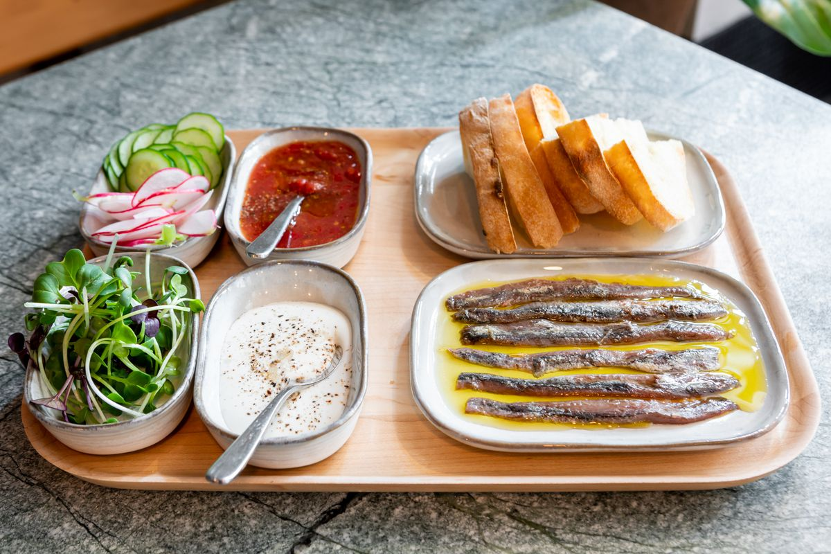 Anchovies from Anchovy Bar