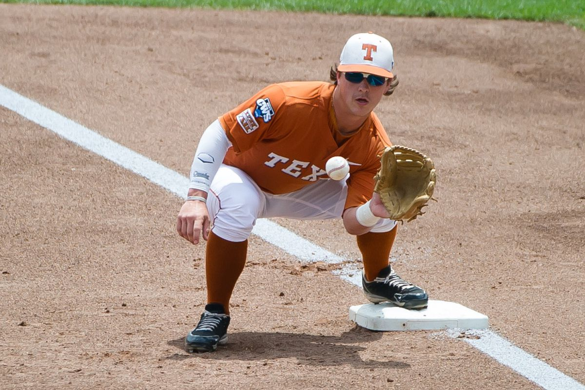 This guy takes the hill for Texas for the first time at noon today.