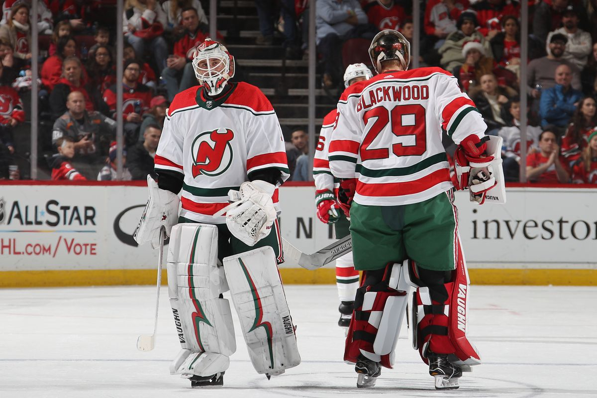 best website dbd15 0cdd7 Unhappy Holidays: New Jersey Devils Shutout by Columbus Blue ...