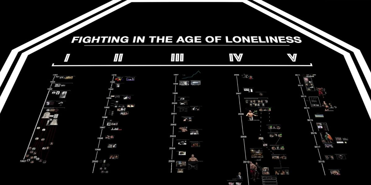 Screenshot from Fighting in the Age of Loneliness, part 1.